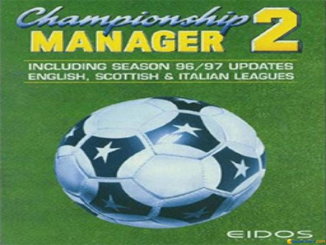 Championship Manager 96/97 - title cover