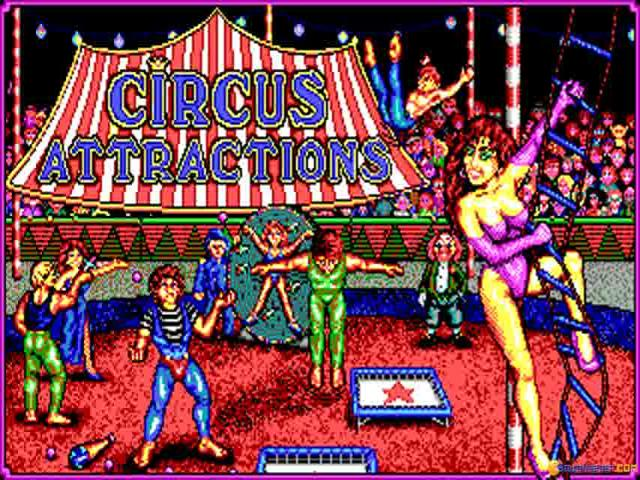 Circus Attractions - title cover