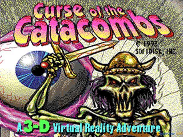 Curse of the Catacombs - title cover