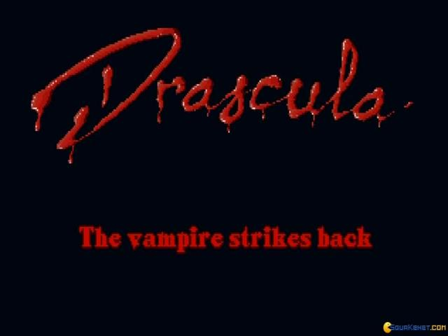 Drascula: The Vampire Strikes Back - title cover