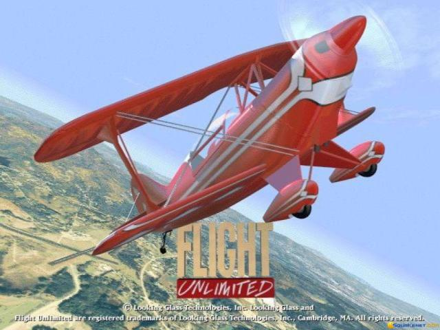 Flight Unlimited - title cover