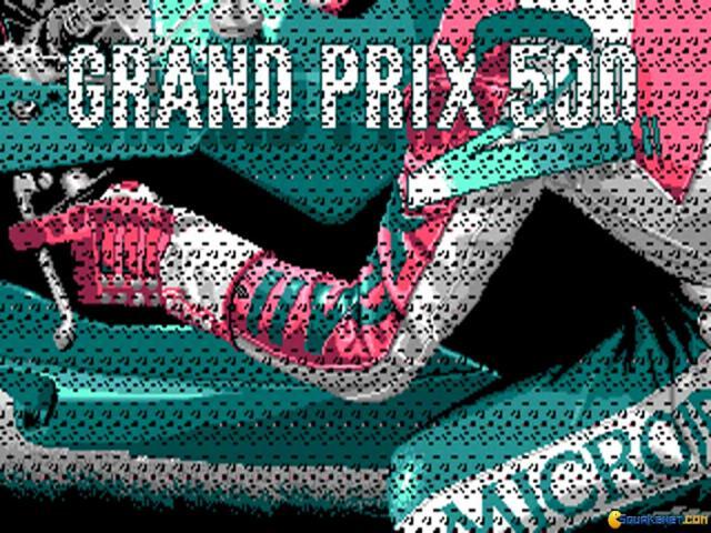 Grand Prix 500 cc - game cover