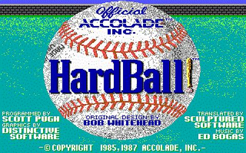 Hardball! - title cover