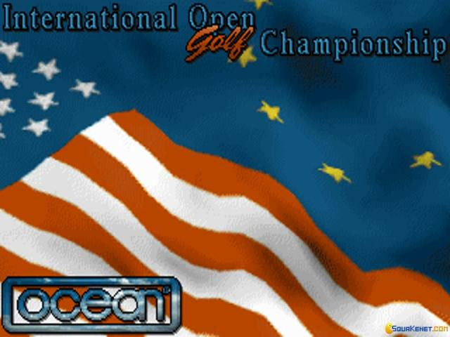 International Open Golf Championship - title cover