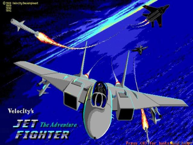 Jetfighter - title cover