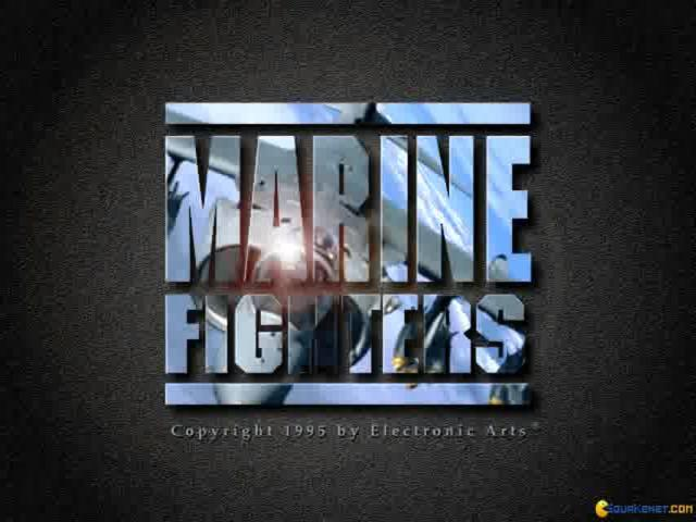 Marine Fighters - title cover