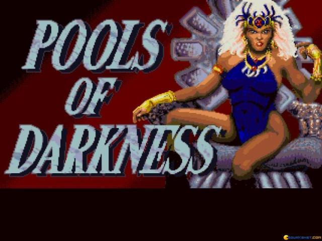 Pools of Darkness - title cover