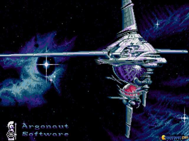 Starglider 2 - title cover