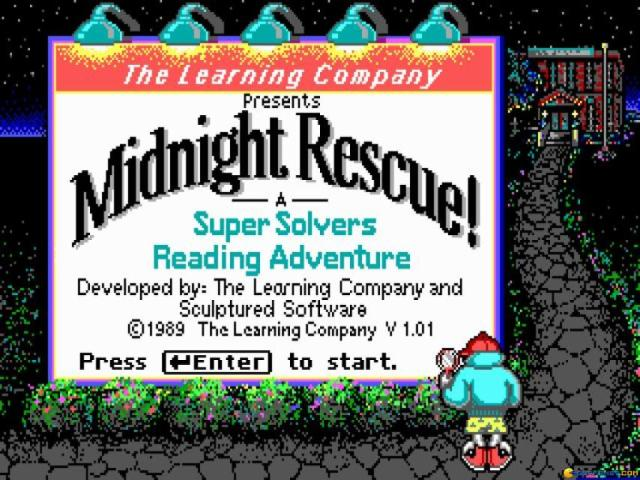 Super Solvers: Midnight Rescue! - title cover