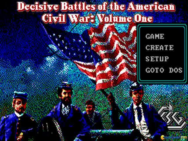 Decisive Battles of American Civil War Vol. 1 - title cover