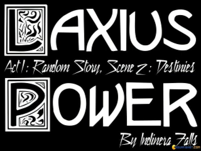 Laxius Power II - title cover