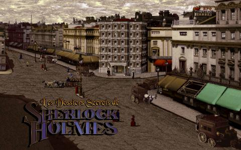 Lost Files of Sherlock Holmes 2 - Case of Rose Tattoo - title cover