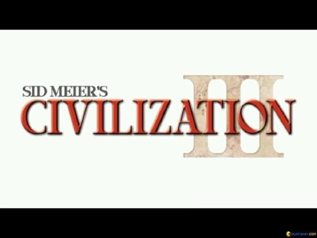 Civilization 3 - title cover