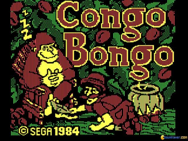 Congo Bongo - title cover