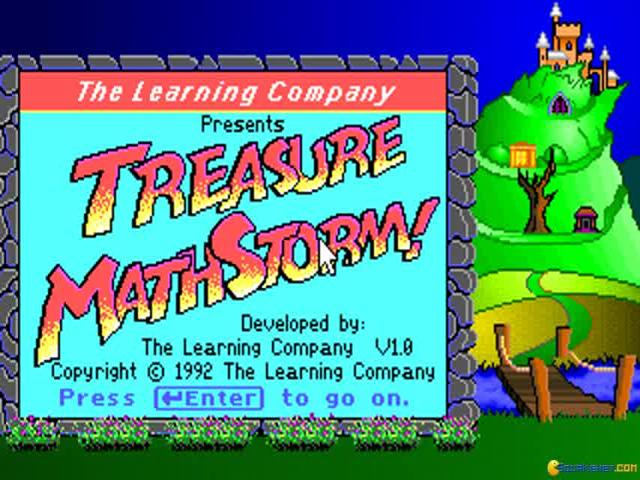 Super Solvers: Treasure MathStorm - title cover