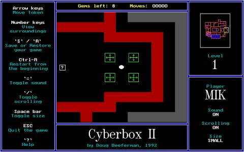 Cyberbox 2 - game cover