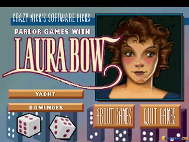 Crazy Nicks Pick Parlor Games With Laura Bow - title cover