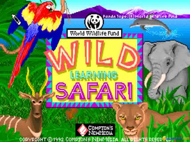 Wild Learning Safari - title cover