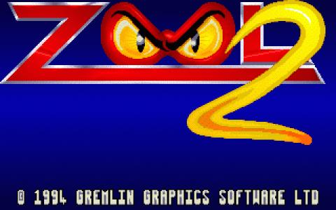 Zool 2 - title cover