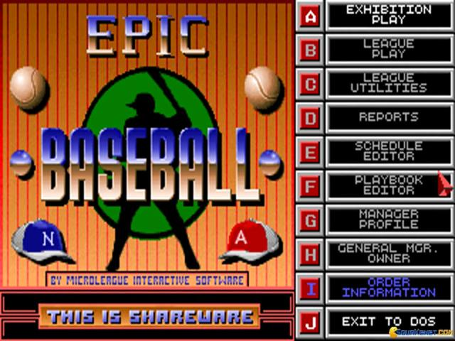 Epic Baseball - title cover