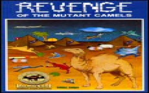 Revenge of the Mutant Camels - game cover
