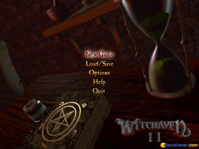 Witchaven 2 - title cover