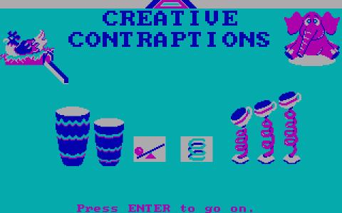 Creative Contraptions - game cover