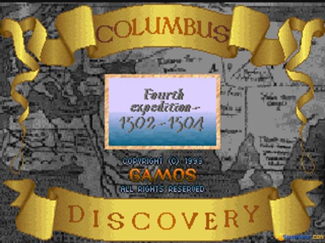 Columbus Discovery - title cover