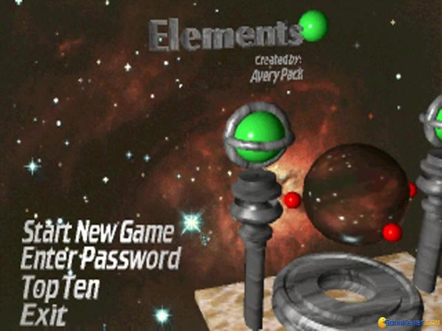 Elements - title cover