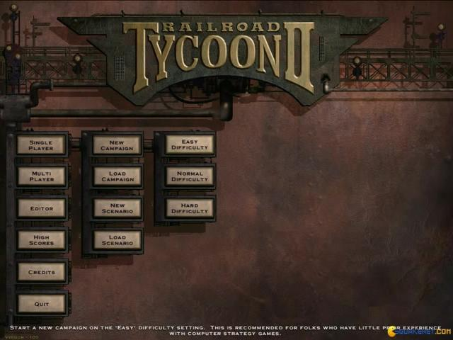 Railroad Tycoon 2 - title cover