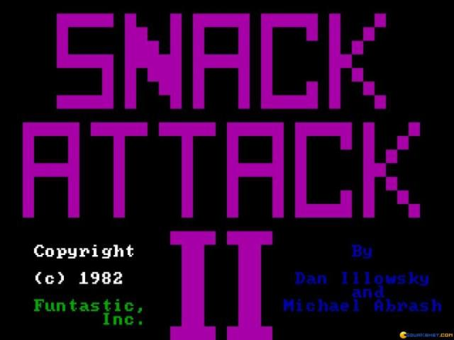 Snack Attack 2 - title cover