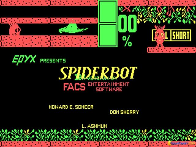 Spiderbot - game cover