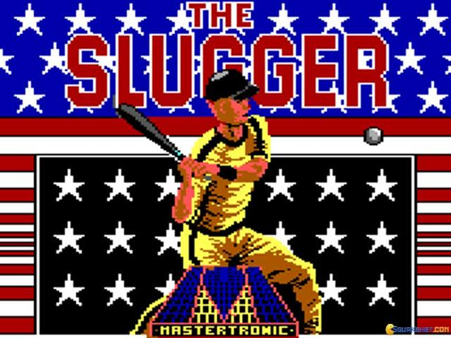 The Slugger - title cover