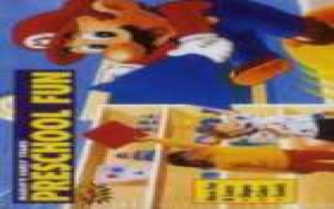 Mario Early Years! Preschool Fun - game cover