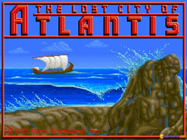 The Lost City of Atlantis - title cover
