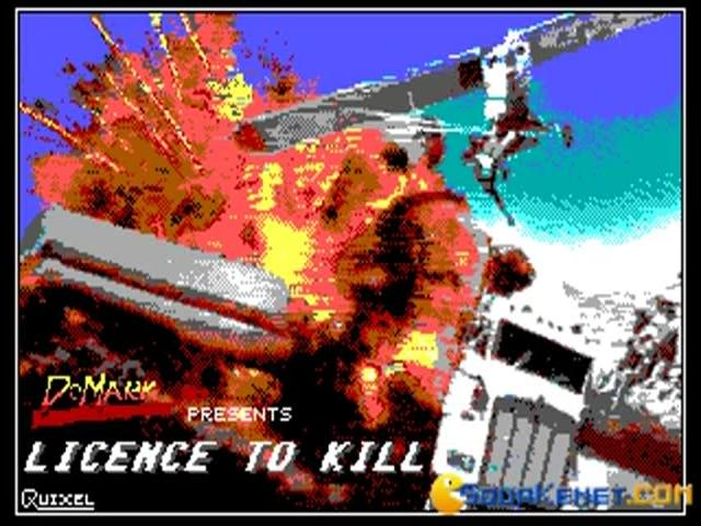 007 - License to Kill - title cover