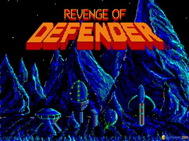 Revenge of Defender - title cover