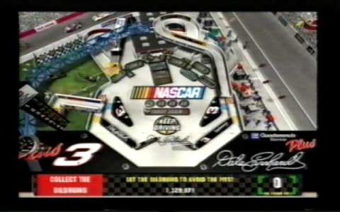 3D Ultra NASCAR Pinball - title cover