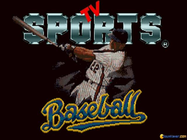 TV Sports: Baseball - title cover