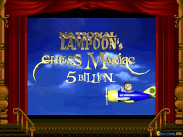 National Lampoons Chess Maniac Five Billion and One - title cover
