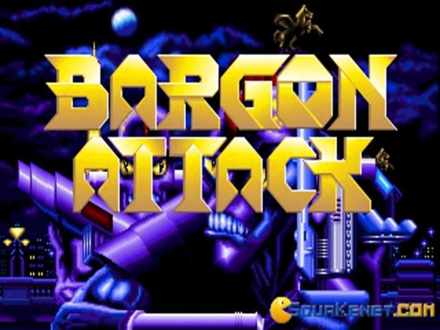Bargon Attack - game cover