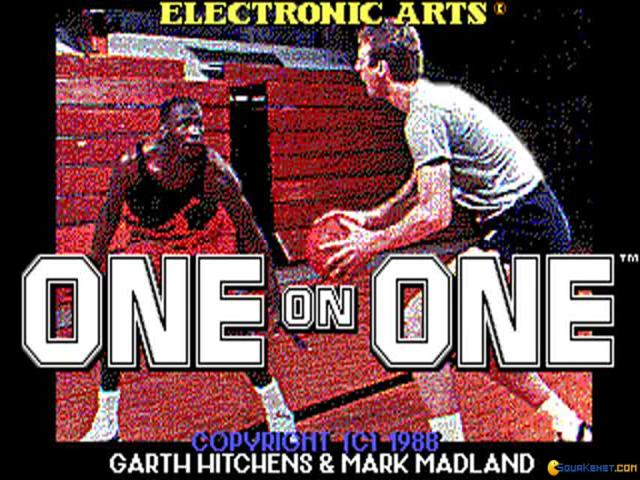 One on One - Jordan Vs Bird - game cover