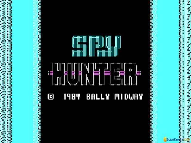 Spy Hunter - title cover