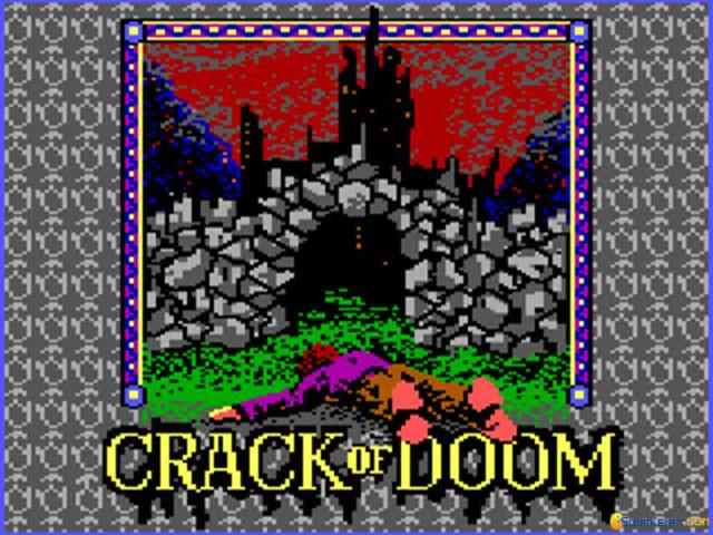 Crack of doom, The - title cover