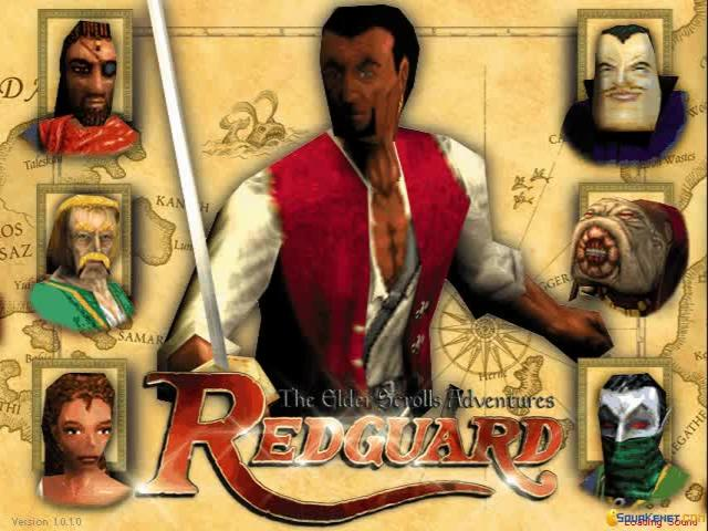 Elder Scrolls Adventure: Redguard - game cover