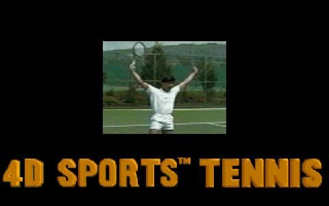 4D Sports Tennis - title cover