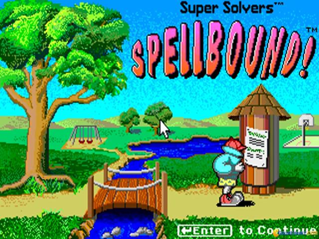 Super Solvers: Spellbound! - title cover
