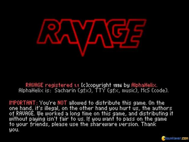 Ravage - game cover