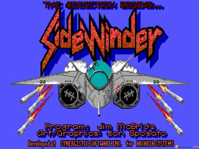 Sidewinder - title cover