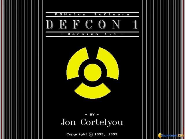 DefCon 1 - title cover